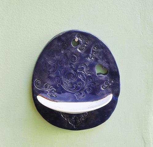 aparador em cerâmica para porta, aparador em cerâmica para parede, aparador de imagem, aparador de vela, peça em cerâmica,