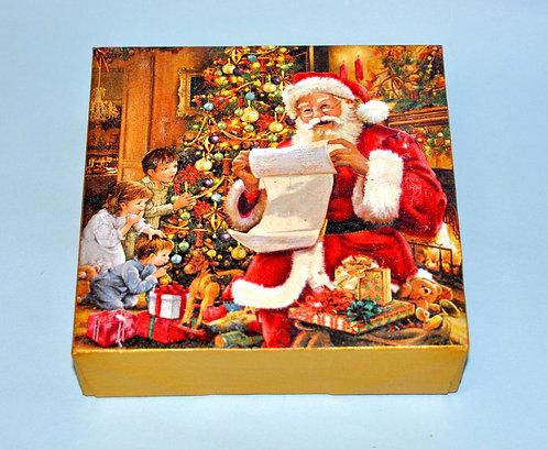 Mini painel de natal, enfeite de natal, natal, decoração de Natal, cena de natal, imagem de natal, presente decorativo, loja