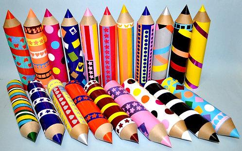 lápis de cor para decorar festas infantis, festa infantil, aniversários, festas, crianças, lembrancinhas, aniversários, festa