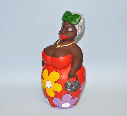Negra Flor ou Nega Fulô em gesso