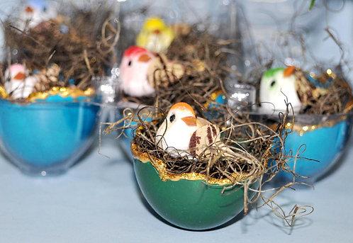 ninho de ovos, ninhos, enfeites de festa, enfeites de bolo, enfeites para plantas, artesanatos