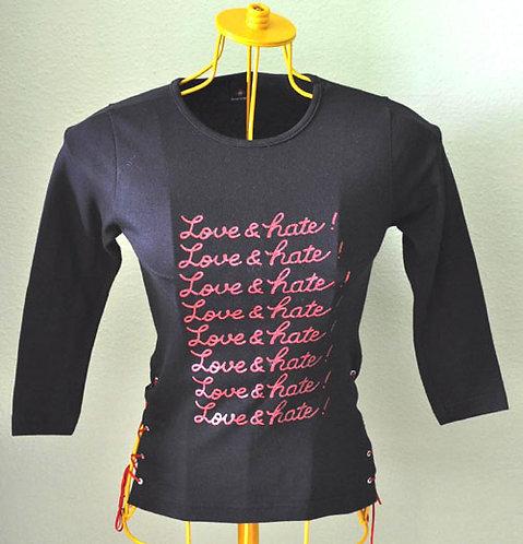 Camiseta básica preta tamanho P teen em ótimo estado NOVA