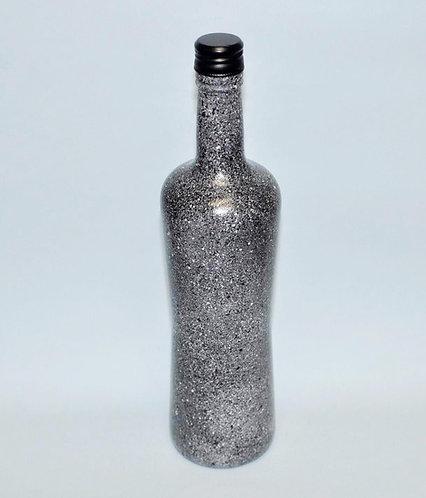 Garrafa decorada, artesanato com garrafa, garrafas, presentes artesanais