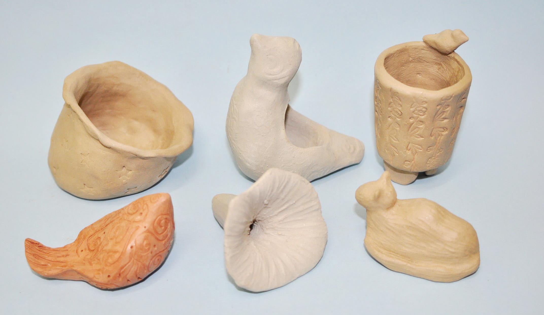 Workshop em cerâmica