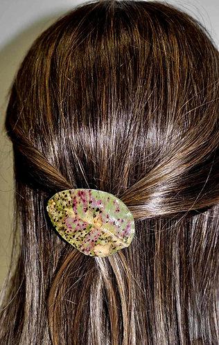 Presilha para cabelo Medieval, folha em presilha, presilha com folha, presilhas para cabelos, folhas naturais