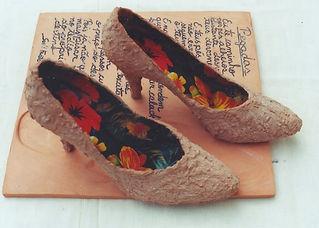 Série sapatos de Sueli Finoto