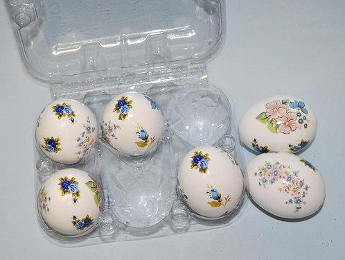 ovo pintado, ovo decorado, ovo floral, ovo florido, artesanato com ovos