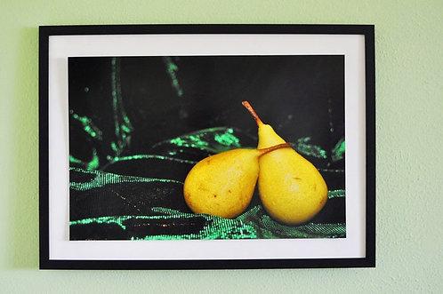 """Peras ercoline fotografia emoldurada para decorar """"Ensaio Lúdico"""""""