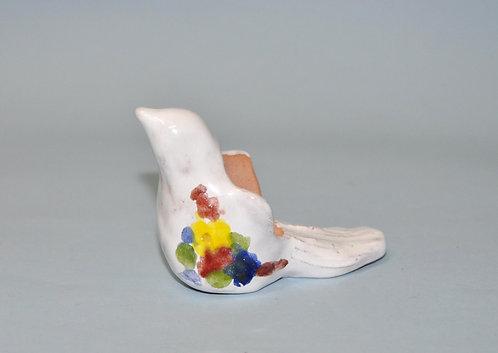 Miniatura, miniaturas, mini vasinho, vasinho para suculentas, passarinho branco, passarinhos vasinhos, artesanatos, craft,