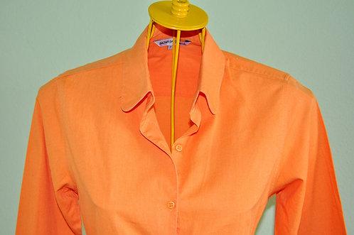 Camisa laranja P em ótimo estado