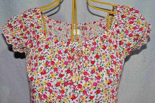 Vestidinho florido para o verão tamanho P sem uso