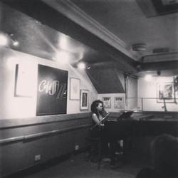 Thank you Café Jazz for having me..
