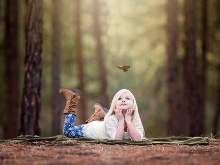Amelia || Fourth Birthday Portraits || Colorado Springs Family Photographer