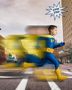 Comic Book Super Hero Imagination