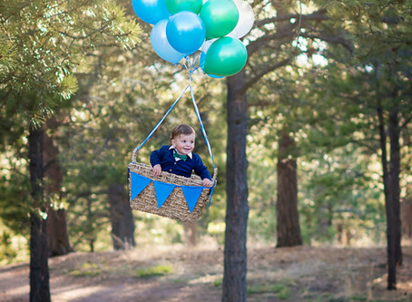 Ryder Turns Two || Valerie K Photography || Colorado Springs Children's Photographer
