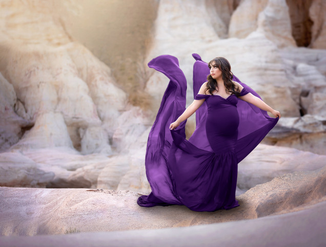 Sew Trendy Tossing Angela Gown in Plum
