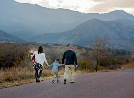 Perry Family Session at Bear Creek || Colorado Springs Family Photographer