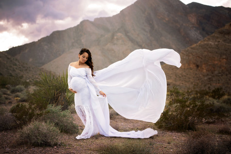 Sew Trendy Pricilla gown in white with added train