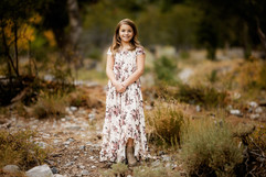 Joyfolie Braelyn Dress in Mauve Floral