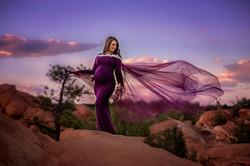 Las Vegas Fine Art Maternity Photographer