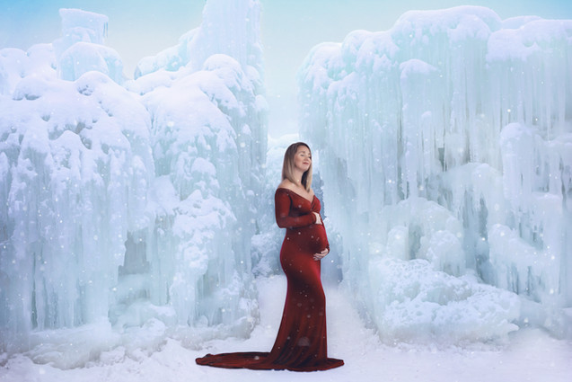 Gown in Merlot