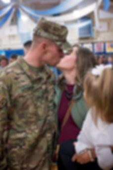 Colorado Springs Military Homecoming Photographer