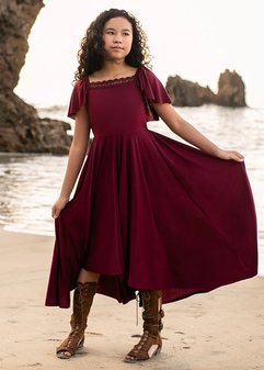 Joyfolie Alaya Dress In Chili Oil