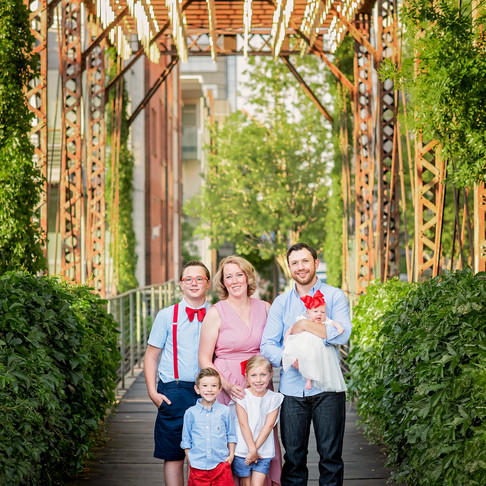 Tolin Family Session in Downtown Denver || Colorado Family Photographer