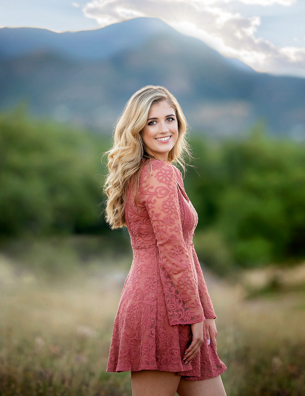 Gorgeous Las Vegas High School Senior Session