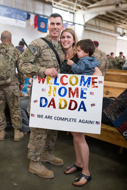 Wacker Military Homecoming