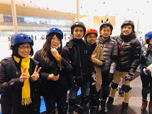 2019年3月 アイススケートリンク