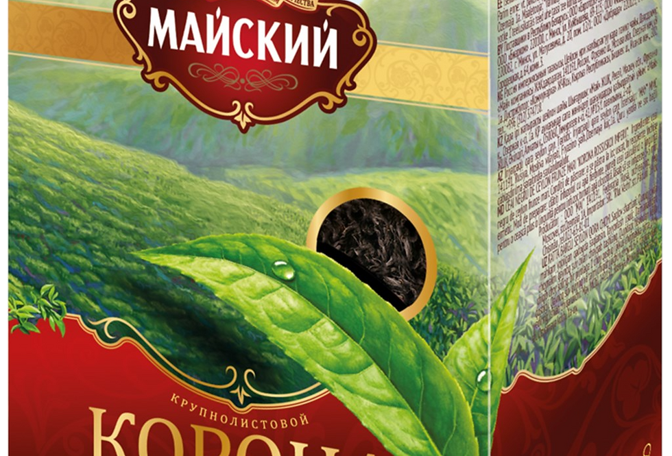 Чай чёрный крупнолистовой 100гр