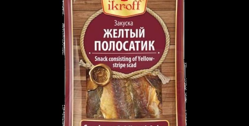 закуска ЖЁЛТЫЙ ПОЛОСАТИК 40гр