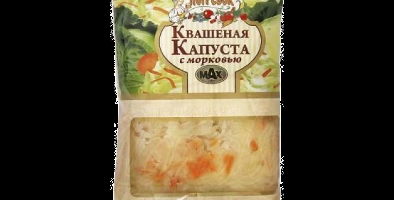 квашеная капуста с морковью 450гр