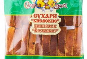"""Сухари""""киевские""""с изюмом 350гр"""