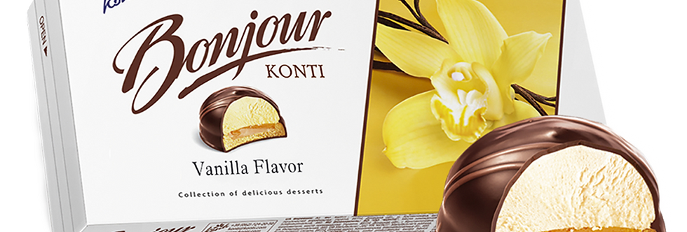 десерт BONJOUR  ванильный 232 гр