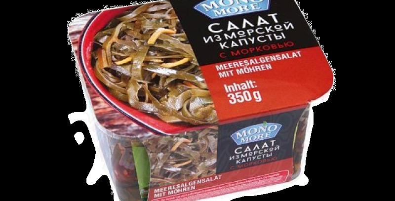 салат морская капуста с морковью 350 гр
