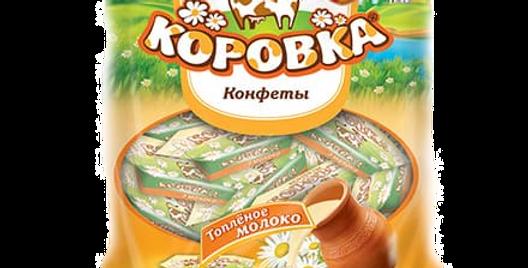 Конфеты КОРОВКА вкус Топлёное молоко 250гр