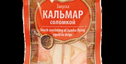 закуска КАЛЬМАР соломкой 36гр