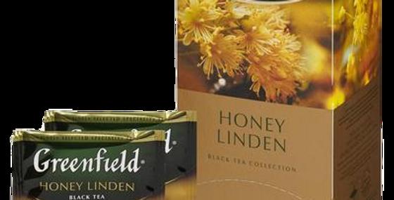 чай GREENFIELD honey linden 25шт * 1,5гр