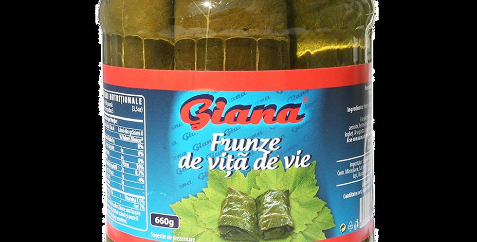 Виноградные листья GIANA 660гр