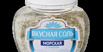 Вкусная соль морская с травами 400гр