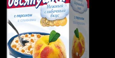 """Овсянушка"" с персиком"