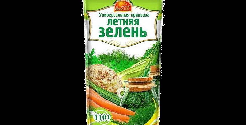 Летняя зелень (с солью) 110гр