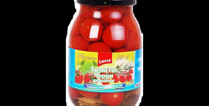томаты ЧЕРРИ укропные 1л