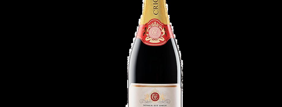 Шампанское сладкое  розовое alc.12,5% 0.75л