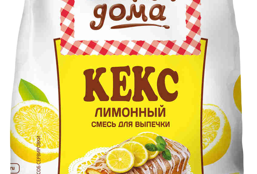 Смесь для выпечки Лимонный Кекс 400гр