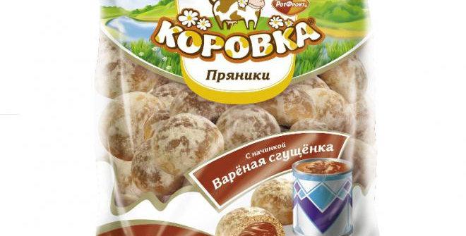 Пряники с варёной сгущенкой 300гр