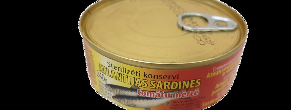 сардины в томате 240гр