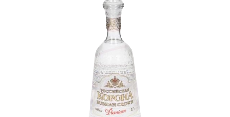"""водка""""Российская корона"""" Premium 0.7л  40%"""